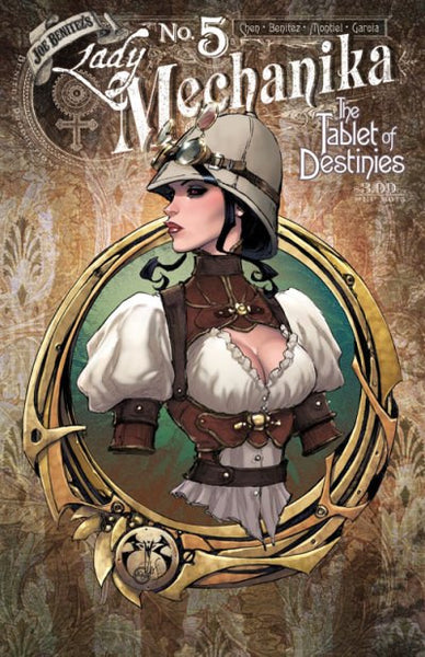 "Lady Mechanika: The Tablet of Destinies (2015) #5 ""Cover B"" Variant"