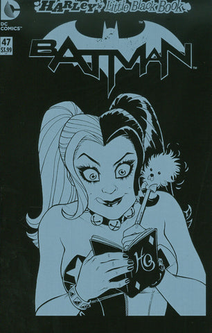 "Batman (2011) #47 ""Harley's Little Black Book"" ""Polybagged"" Variant"