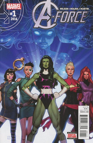 A-Force (2016) #1