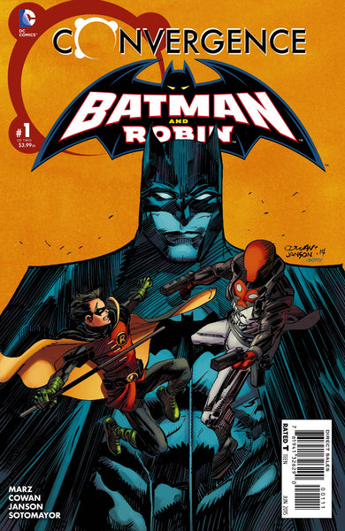 Convergence: Batman and Robin (2015) #1