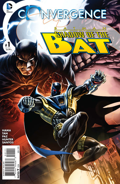 Convergence Batman: Shadow of the Bat (2015) #1