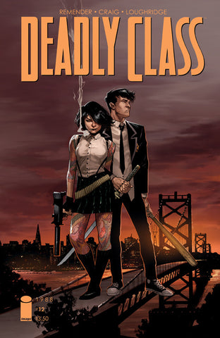 Deadly Class (2014) #12 Opena Variant
