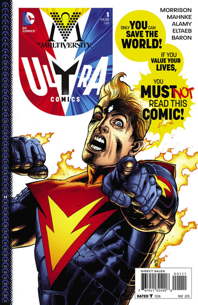 The Multiversity: Ultra Comics (2015) #1