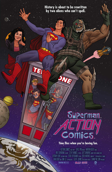 "Action Comics (2011) #40 Quinones ""Movie Poster"" Variant"