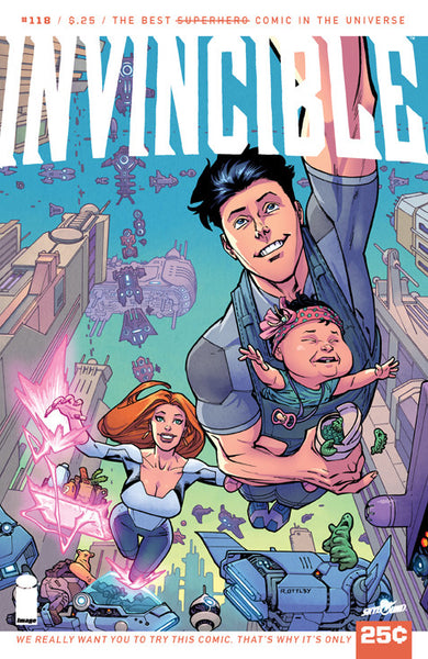 "Invincible (2003) #118 ""Image Display"" Variant"