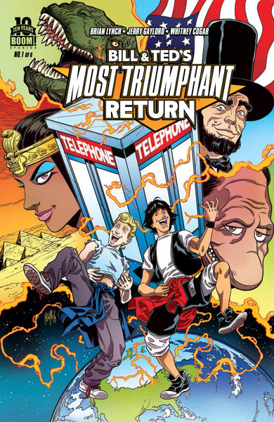 Bill and Ted's Most Triumphant Return (2015) #1