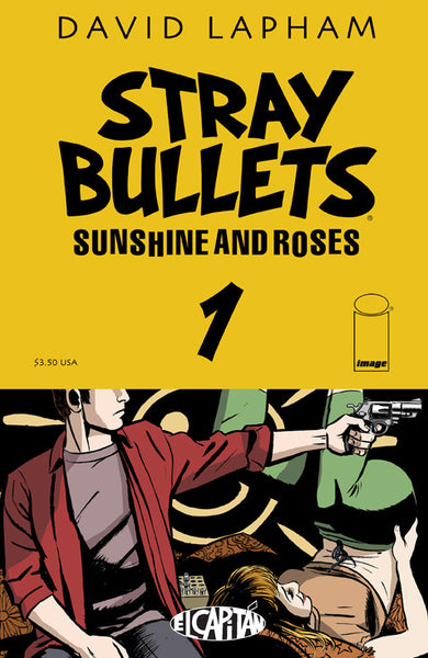 "Stray Bullets: Sunshine & Roses (2015) #1 ""Image Display"" Variant"