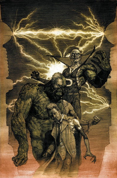 "Justice League Dark (2011) #35 ""Monsters"" Variant"