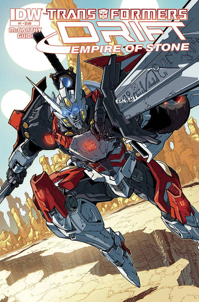 The Transformers: Drift - Empire of Stone (2014) #1