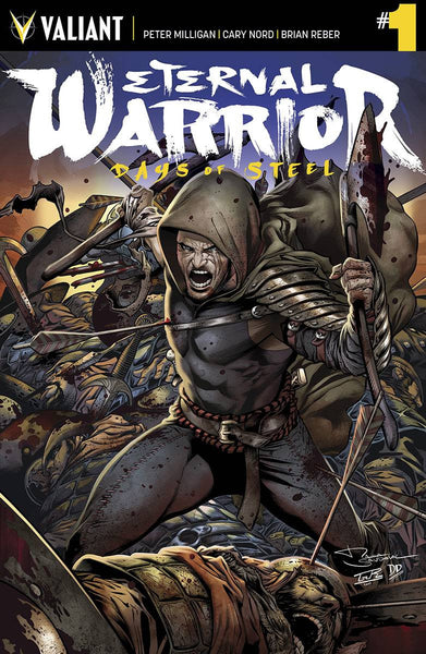 "Eternal Warrior: Days of Steel (2014) #1 ""Cover B"" Variant"