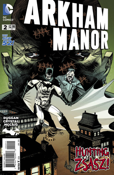 Arkham Manor (2014) #2
