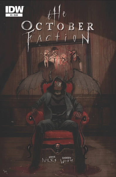 The October Faction (2014) #3