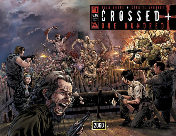 "Crossed Plus One Hundred (2014) #1 ""American History"" ""X Wrap"" Variant"