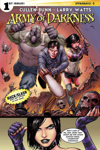 "Army of Darkness (2014) #1 Seeley ""Cover B"" Variant"