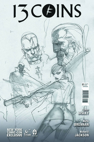 "13 Coins (2014) #1 ""NYCC Sketch"" Variant"