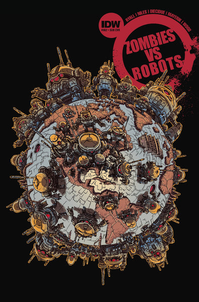 "Zombies Vs Robots (2015) #2 ""Subscription"" Variant"