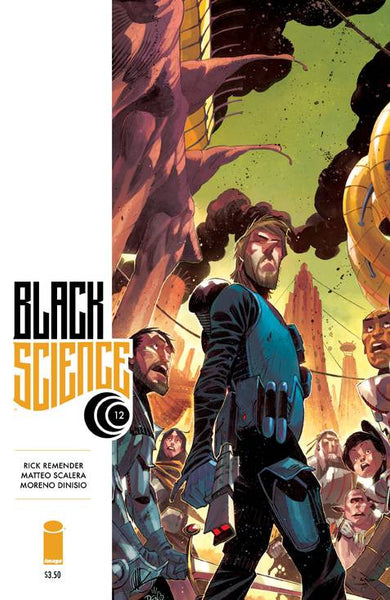 "Black Science (2013) #12 ""Cover A"" Variant"