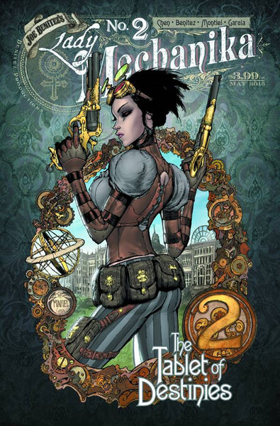 "Lady Mechanika: The Tablet of Destinies (2015) #2 ""Cover A"" Variant"