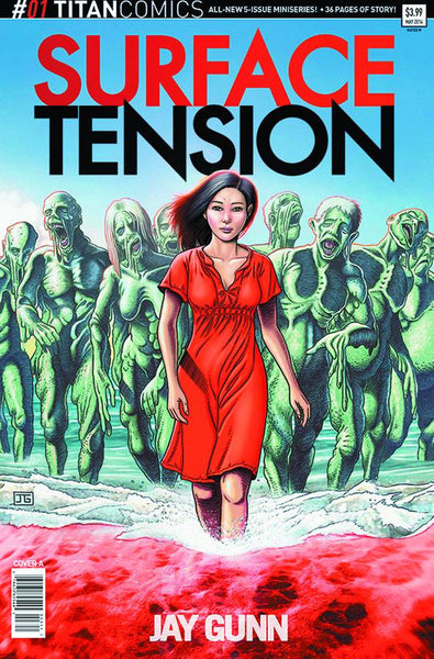"Surface Tension (2015) #1 ""Cover A"" Variant"