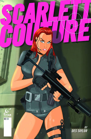"Scarlett Couture (2015) #3 ""Subscription"" Variant"