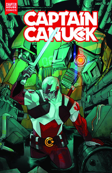 "Captain Canuck (2015) #2 ""Cover A"" Variant"