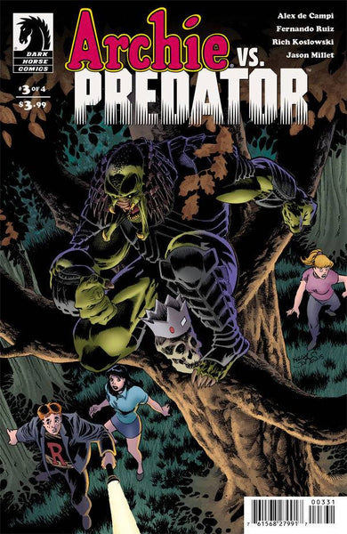 Archie vs. Predator (2015) #3 Jones Variant