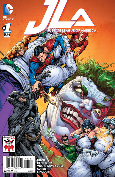 "Justice League of America (2015) #1 ""Joker"" Variant"
