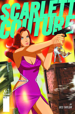 "Scarlett Couture (2015) #4 ""Subscription"" Variant"