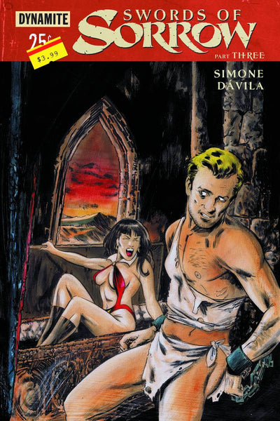 "Swords Of Sorrow (2015) #3 Hack ""Subscription"" Variant"