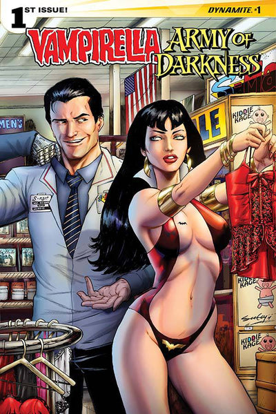 Vampirella / Army of Darkness (2015) #1