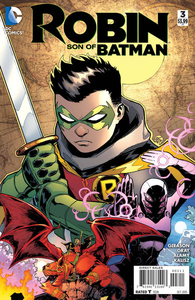 Robin: Son of Batman (2015) #3