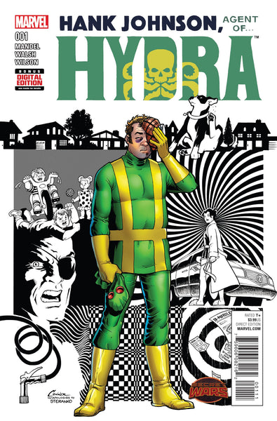 Hank Johnson, Agent of Hydra (2015) #1