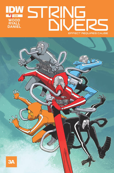 "String Divers (2015) #1 ""Subscription"" Variant"