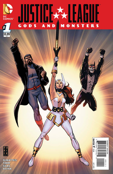 Justice League Gods and Monsters (2015) #1