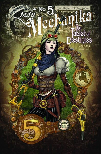 "Lady Mechanika: The Tablet of Destinies (2015) #5 ""Cover A"" Variant"