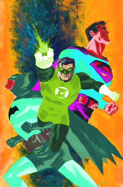 "Batman/Superman (2013) #24 ""Green Lantern"" Variant"