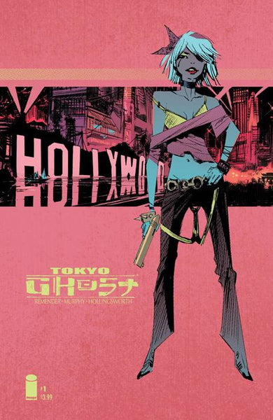 "Tokyo Ghost (2015) #1 ""Cover B"" Variant"