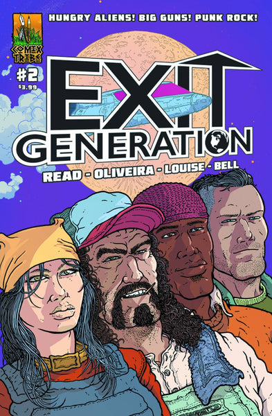 "Exit Generation (2015) #2 ""Cover A"" Variant"