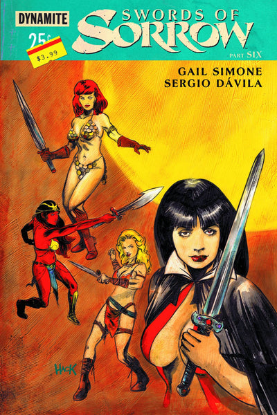 "Swords Of Sorrow (2015) #6 Hack ""Subscription"" Variant"