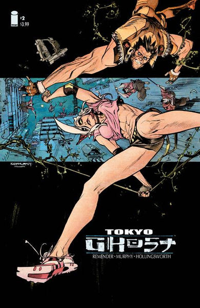"Tokyo Ghost (2015) #2 ""Cover A"" Variant"