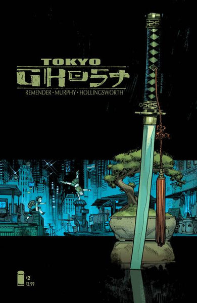 "Tokyo Ghost (2015) #2 ""Cover B"" Variant"