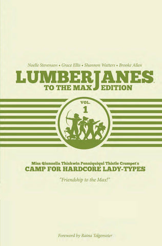 Lumberjanes (2014) HC Vol. 01 To the Max Edition