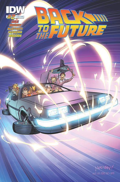 "Back to the Future (2015) #2 Madden ""Subscription"" Variant"