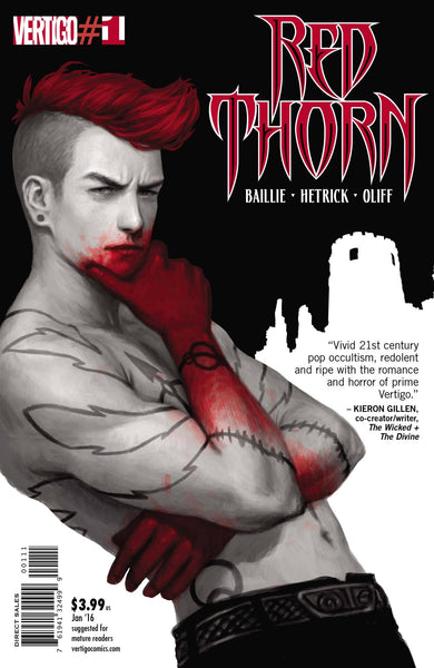 Red Thorn (2016) #1