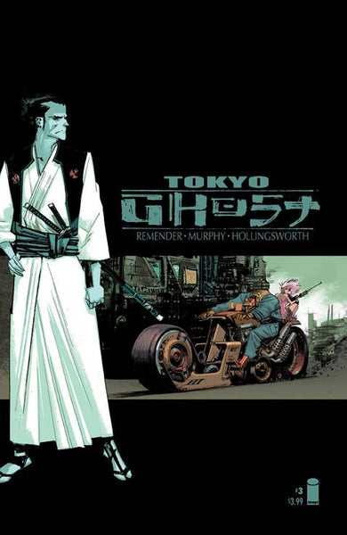 "Tokyo Ghost (2015) #3 ""Cover B"" Variant"