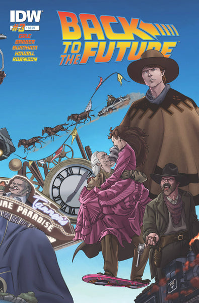 "Back to the Future (2015) #3 Schoening ""Cover A"" Variant"