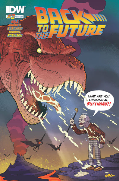 "Back to the Future (2015) #3 Schoening ""Subscription"" Variant"