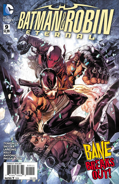 Batman and Robin Eternal (2015) #9