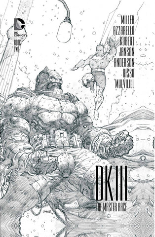 "Dark Knight III: The Master Race (2016) #2 ""Collector's Edition"" HC Variant"