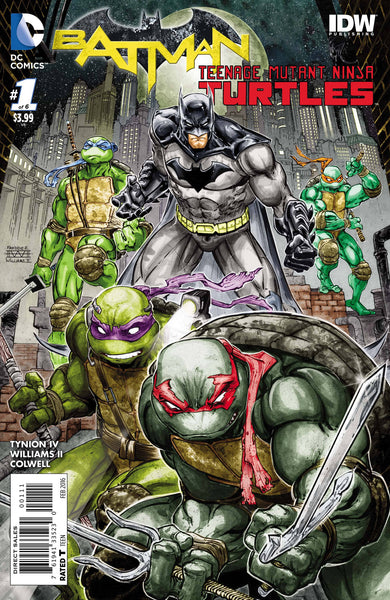 Batman / Teenage Mutant Ninja Turtles (2016) #1